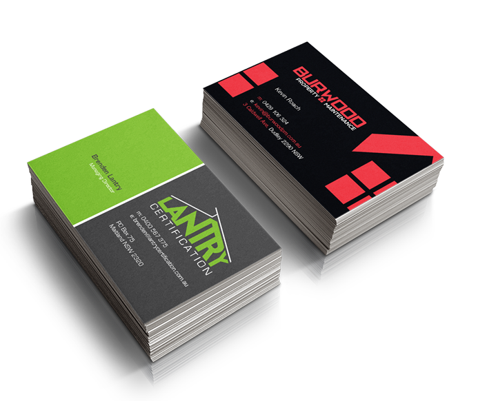 Business cards full color double sided exonika reheart Gallery