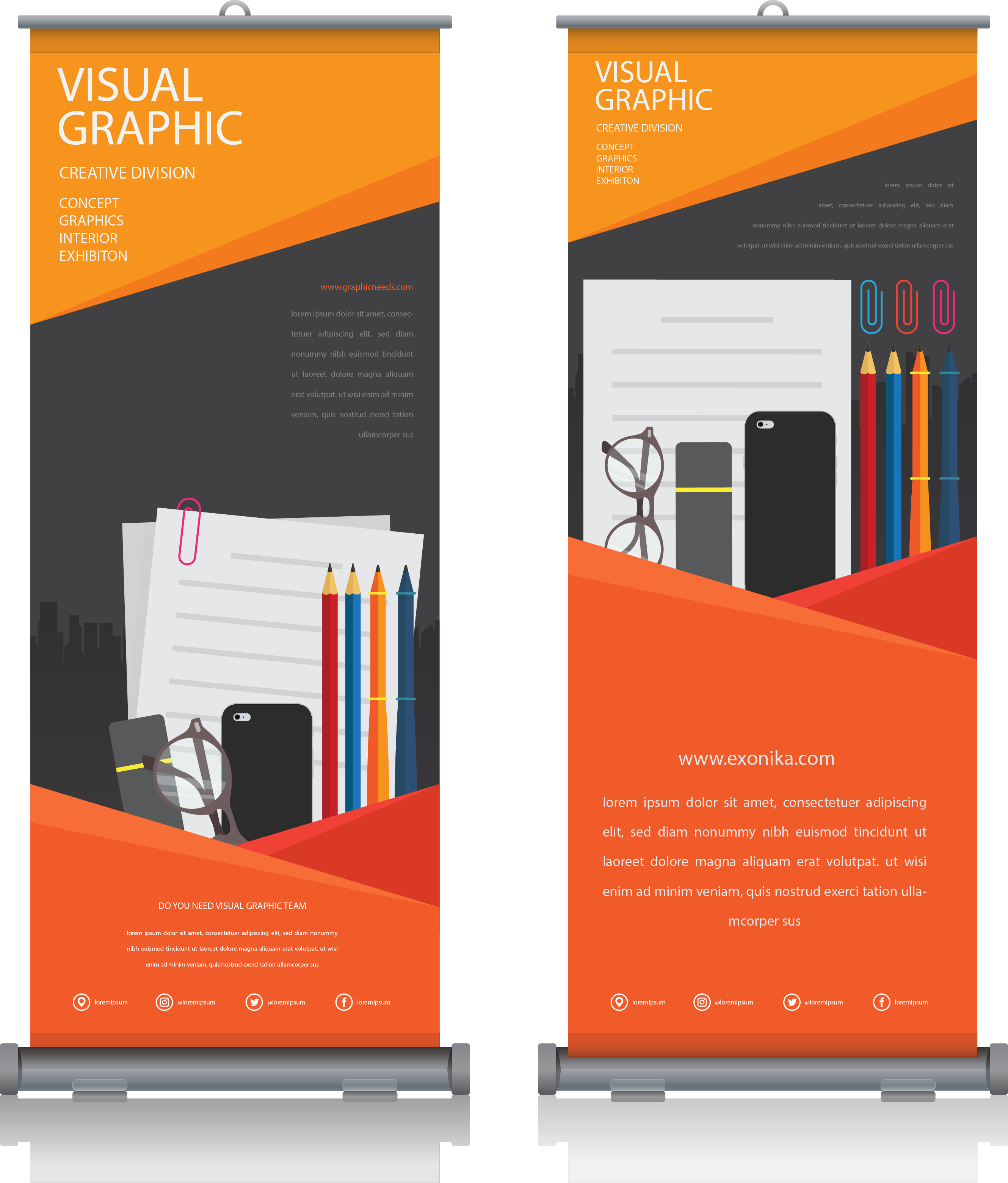 Pull Up Banners - Full Colour Single Sided